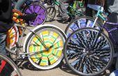 Roues de vélo de grattoir
