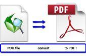 Pepakura - Convert AOP au format PDF