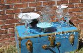 DIY Cupcake & Cake stands et pots d'apothicaire !