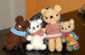 Cutie porte famille Amigurumi modèle