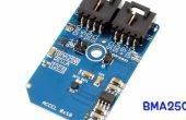 Mesure d'accélération à l'aide de BMA250 et Arduino Nano