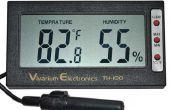 L'humidité numérique et surveiller la température
