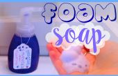 RECETTE de savon moussant lavande