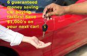 6 conseils de négociation achat de voiture ! Le meilleur moyen d'économiser de l'argent !