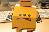 Officiel Papercraft Robot des Instructables !
