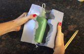 Fabriquer des bougies bouteille Vintage