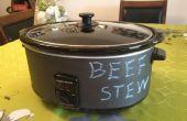 Tableau noir Crock Pot