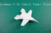 Comment plier l'avion en papier : F14 avion de chasse