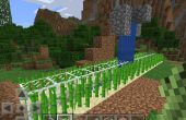 Automatisé de ferme de la canne à sucre dans Minecraft PE