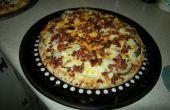 Pommes de terre Bacon Pizza