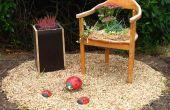Transformer une vieille chaise en un flowerchair