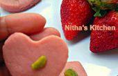 Lait fraise Peda   Paalkova   South Indian délicatesse