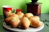 Rapide pains de blé entier
