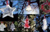 Décorations de glace pour le plein air, Noël ou toute célébration de l'hiver.