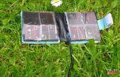 PORTEFEUILLE de chargeur solaire de téléphone