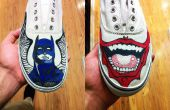 Chaussures en toile !