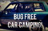 Camping car sans bug : couverture de fenêtre.