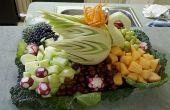 Comment sculpter des fruits pour une pièce maîtresse