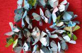 Recyclé les hawaiian lei papier