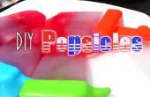 ☆D.I.Y : 4th Of juillet Popsicles☆