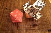 Boîte de cadeau de Saint Valentin papercraft
