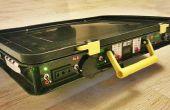 Tous dans une unité d'énergie solaire Portable : 220V + 12V + 5V batterie automatique de Charge ! ;)