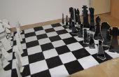 Jeu d'échecs en carton
