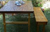 Table de jardin pliante Groovy