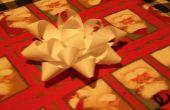 Papier cadeau arcs/ornements