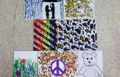 Comment faire pour créer fusion Crayon cire Art