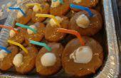 Racinette Cupcakes avec glaçage de racinette