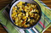 Pakistanais fruits Chaat (salade) avec Chaat masala (recette inclus)
