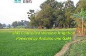 Sans fil d'Irrigation système contrôlé par SMS
