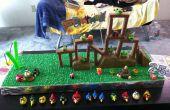 Jouable en colère oiseaux gâteau - anniversaire Edition