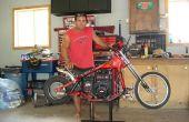 Wal-Mart vélo converti en une minimoto chopper