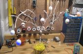Magasin à un dollar LED oeuf Pâques arbre