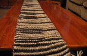 Mon ombre Knit Piano Scarf