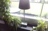 Lumière contrôlée fenêtre lampe