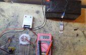 Tourner un régulateur de Charge solaire dans mur alimenté 12v chargeur de batterie