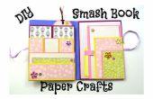 Comment faire un simple Smash Book Slim - DIY Paper Crafts