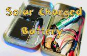 Charger une batterie avec un moteur ou un panneau solaire !