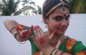 Comment porter une robe de danse Bharatanatyam