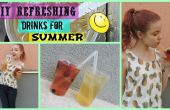 DIY boissons rafraîchissantes pour Summer