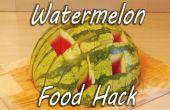 Comment préparer et servir une pastèque
