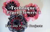 Comment fabriquer du papier fleurs (Style1 pour projet 161)