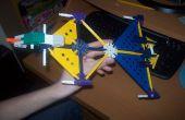 Knex Firehawk-Banshee transformable-avion de chasse !
