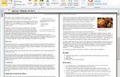 Enregistrement d'une Page de Site en format PDF