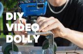 Dolly de vidéo bricolage simple sur un Budget
