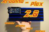 Arduino-plex 2.0 : Surface de travail de Arduino modulaire Plexiglas