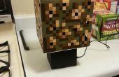 Minecraft Glowstone Cube lampe